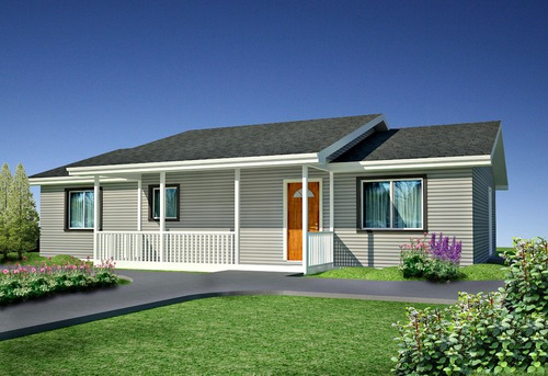 Plan #H215 Modest Timberline Ranch House Plans PDF and DWG