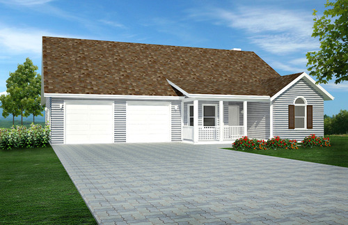 H126 Custom Home Design in both PDF and DWG files