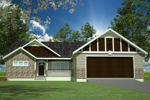H233 Custom Home Design in both PDF and DWG File
