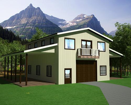 g460 25 x 40 x 10 workshop garage with apartment