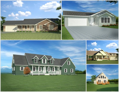 Stock Printed House Plans over 100 to choose from