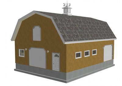 Special Offer 12 Gambrel Barn Blueprints and Plans