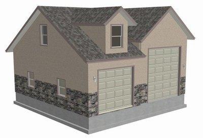 #g453 RV Garage Plans