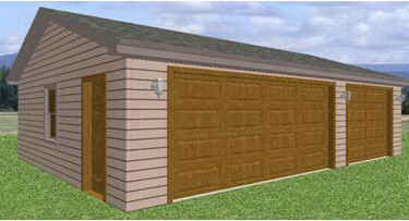 9 Pole Barn Garage Plans Only $19.99