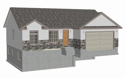 Plan #sds239 1300 sq ft 3 bdrm 2 bth 1300 sq ft small house plans DWG and PDF
