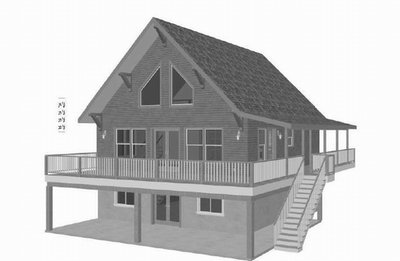 Plan #178 Custom Cabin Design