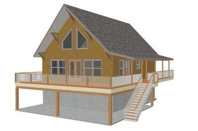 Plan #178 Custom Cabin Design PDF and CAD