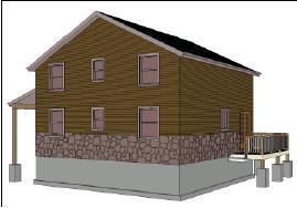 28' x 28' Cabin Plan