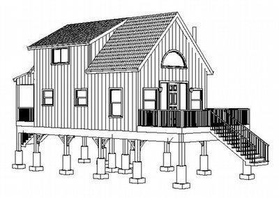Plan #234 Wyoming Aspen Hunting Cabin Plans PDF