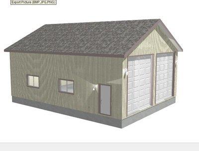 G425 Plans, 30 x 40 x 14 rv garage plans