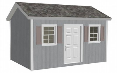 G473 10 X 14 X 8 garden shed plans