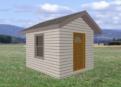 10 sheds plans + playhouse plans for only $29.99