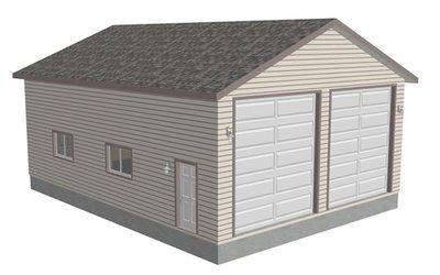 G371 30 X 40 X 14 Workshop RV Garage plans