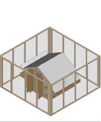 Poultry man Construction Details