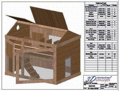 Hampton Redesign Chicken Coop Plan