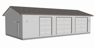 #g464 30x60x10 workshop Garage Plan