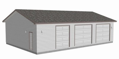 #g465 40x60x10 workshop Garage Plan