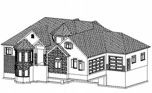 Plan #263 David Custom Home Design
