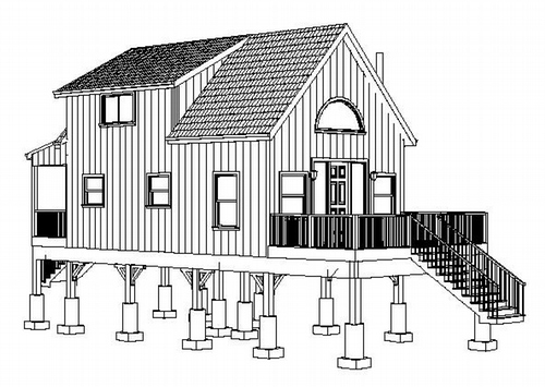 Plan #234 Wyoming Aspen Hunting Cabin Plans PDF