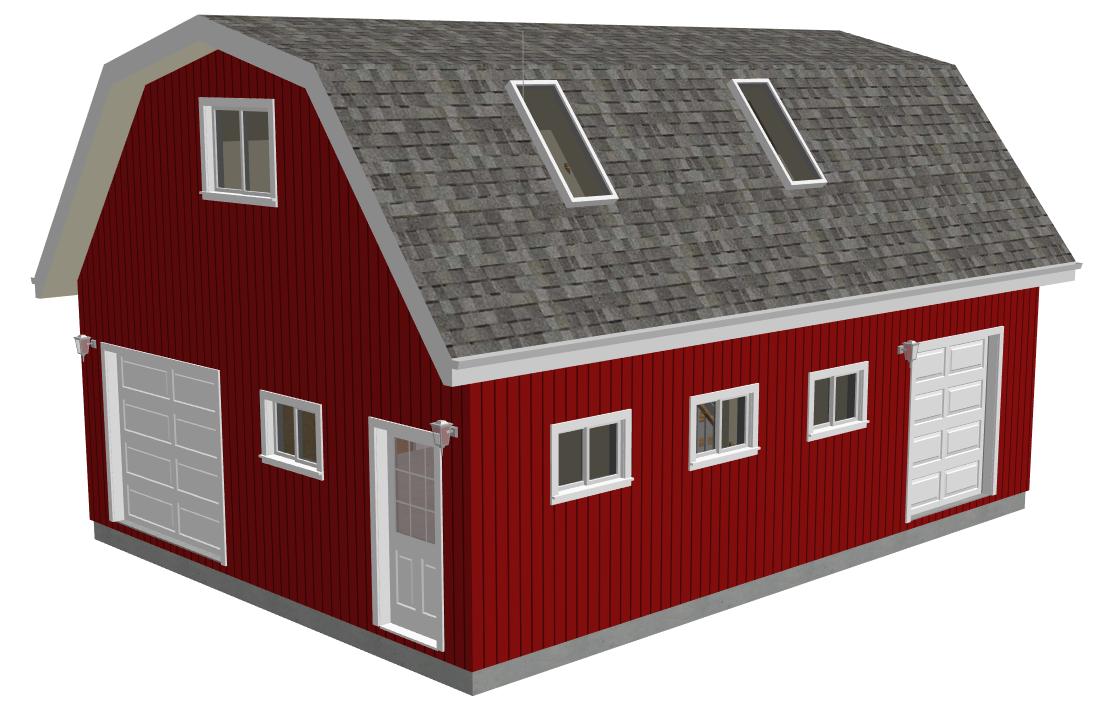Garage and Barn Plans PDF Catalog