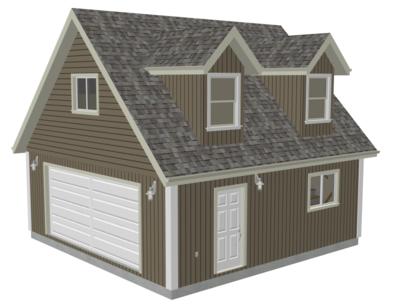 Free Sample Garage plan