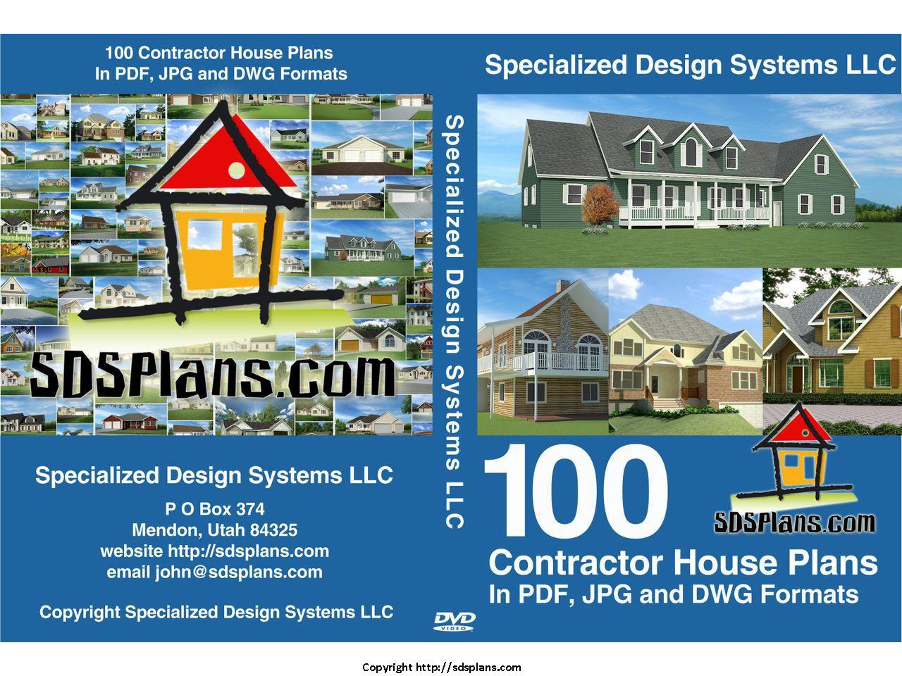 100 House Plans PDF Catalog