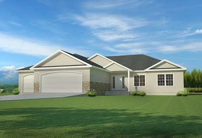 House Plan #H194 1668 Sq ft 3 bedroom 2 bath on main pdf and dwg