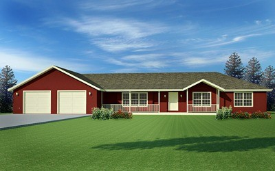 #H170 House Plans Ranch style 220 Sq Ft in PDF and DWG