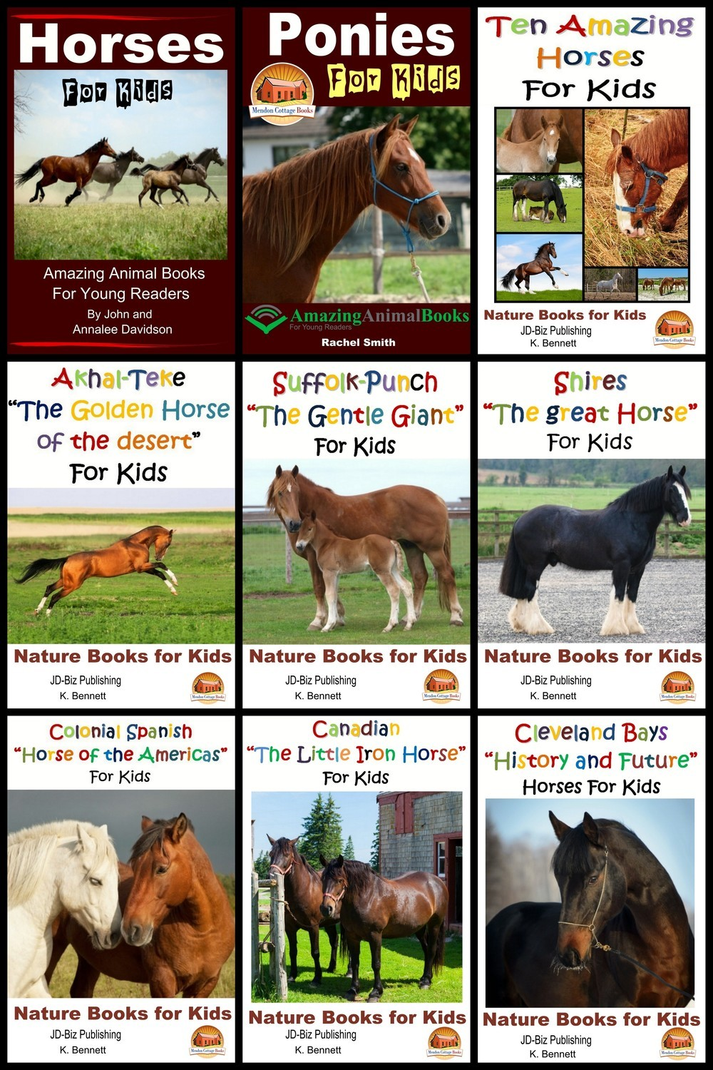 10 Horse Books for Kids