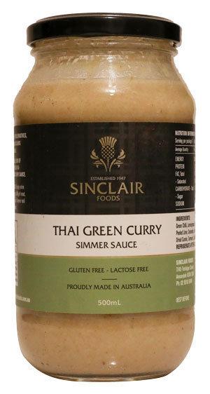 Thai Green Curry - Gluten free, Lactose free