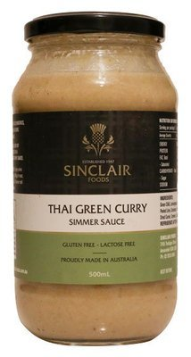 Thai Green Curry - Gluten free, Lactose free