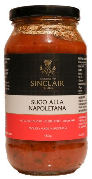 Sugo Alla Napoletana - No added sugar, Gluten free, dairy free