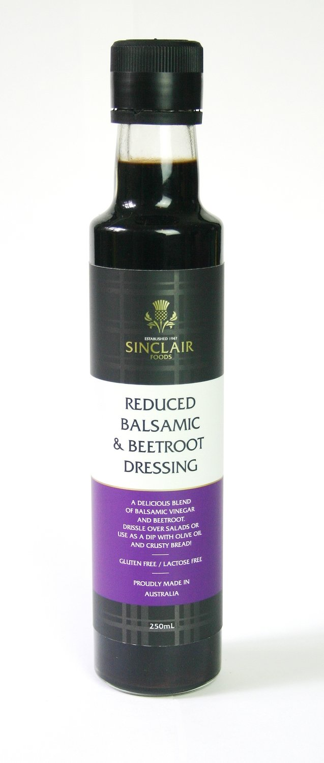 Reduced Balsamic & Beetroot Dressing - Gluten Free, Lactose Free