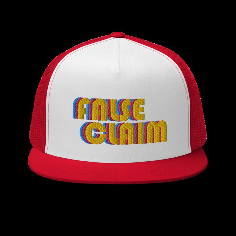 Tri-Color Trucker Hat