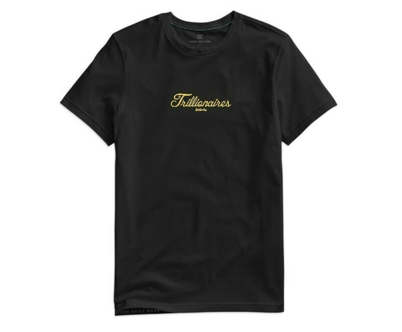 Trillionaires Lifestyle Embroidered Tee