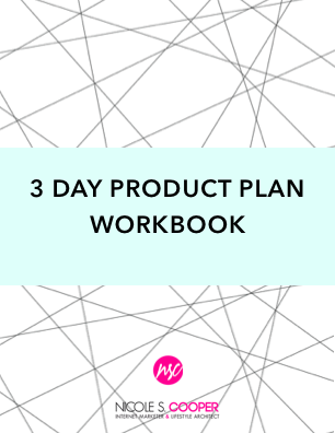 3 Day Product Plan Workbook