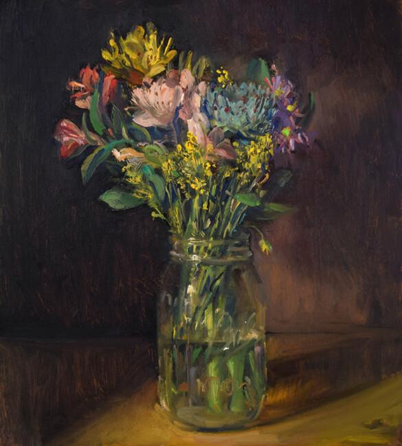 Bouquet with Succulent