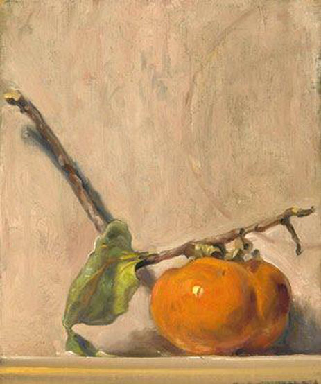 Persimmon on a Branch
