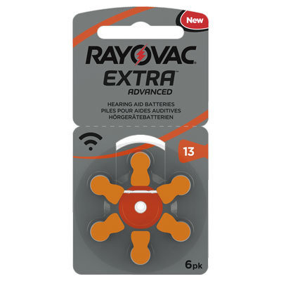 Rayovac 13 Oransj - 30 batterier. Fritt levert 014