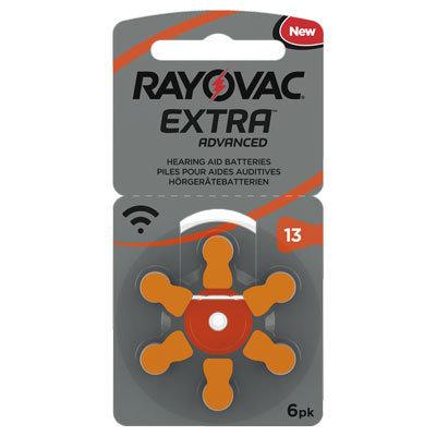 Rayovac 13 Oransj - 30 batterier. Fritt levert