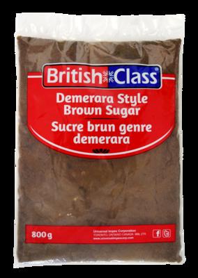 British Class Demerara Style Brown Sugar - 800g