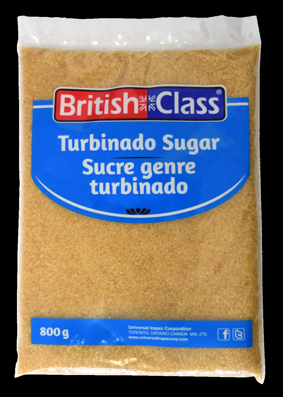 British Class Turbinado Sugar - 800g