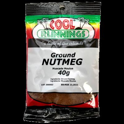 Ground Nutmeg - 40g