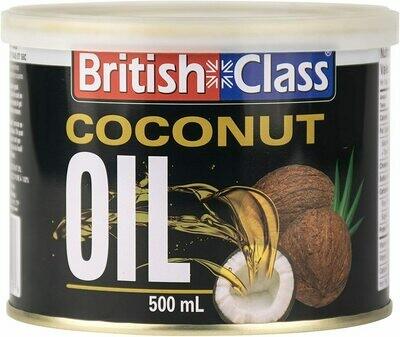 British Class Coconut Oil - 500ml