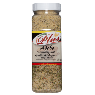 Cool Runnings Plus Adobo Seasoning w/ Garlic & Pepper - 800g