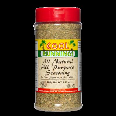 Cool Runnings All Natural All Purpose Seasoning - 200g
