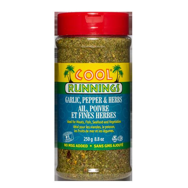 Cool Runnings Garlic, Pepper & Herbs - 250g