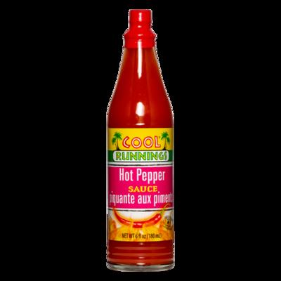 Cool Runnings Hot Pepper Sauce - 180ml