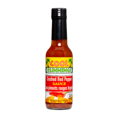 Cool Runnings Crushed Pepper Sauce - 148ml