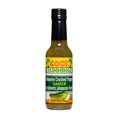 Cool Runnings Jalapeno Crushed Pepper Sauce - 148ml